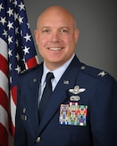 Portrait photo of Col. Todd K. Thomas the Wing Commander of the 179th Airlift Wing.