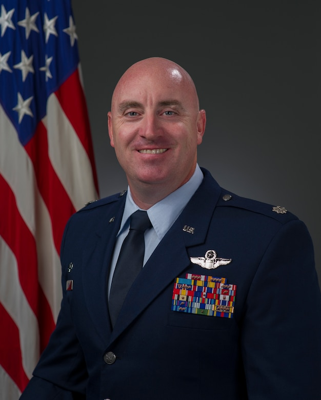 Lt. Col. Robert Kline, 921st Contingency Response Squadron commander, encourages all Airmen to serve as 'one team' to ensure mission success. (Courtesy Photo)