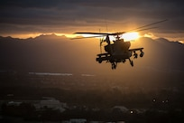 U.S. Army AH-64 Apache helicopter,