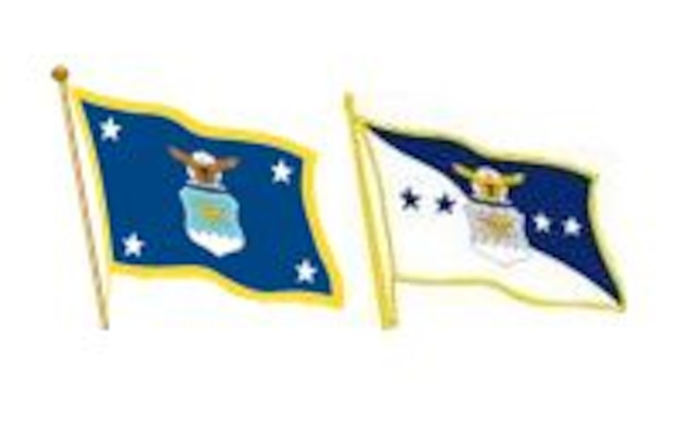 CSAF and SECAF Flags