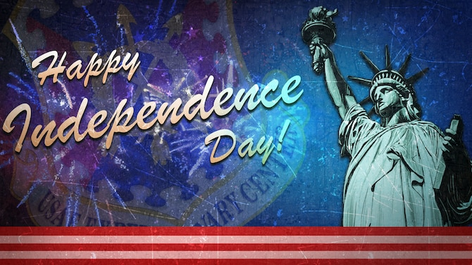 Stay safe and Happy 4th of July!