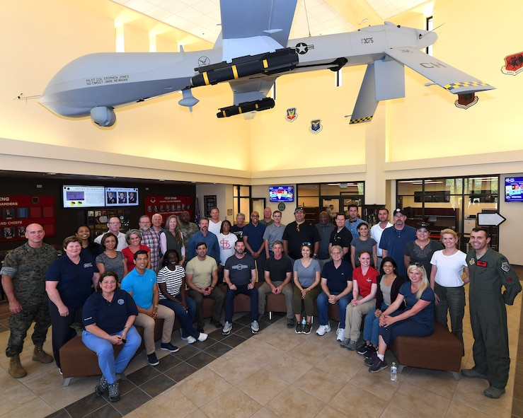 JCOC was established in 1948 as a Secretary of Defense-sponsored annual outreach program during which business and community leaders experience military life, training and operations. (U.S. Air Force photo by Staff Sgt. James Thompson)