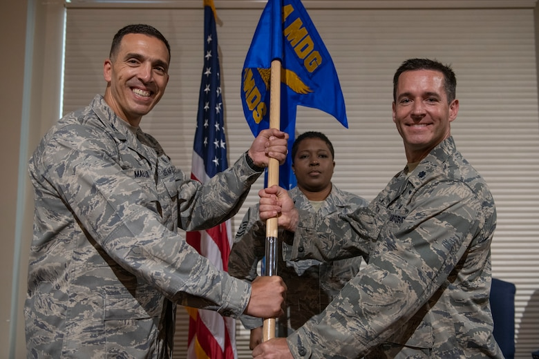 4 AMDS welcomes new commander