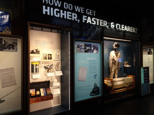 NRO exhibit at the International Spy Museum in Washington, D.C.