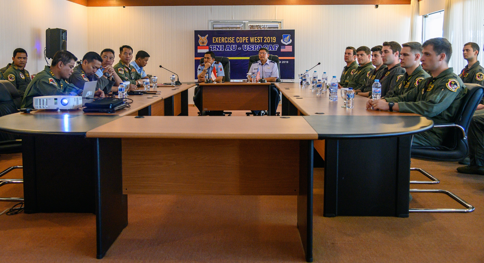U.S., Indonesian Air Forces Wrap Up Cope West 19