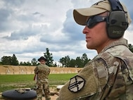 Sgt. 1st Class Thomas Walsh of the Army Reserve Marksmanship Program