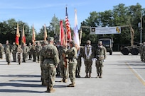 143rd Sustainment Command (Expeditionary) holds change of command