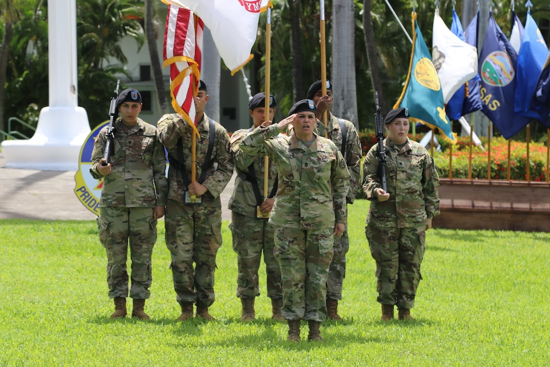 9th Mission Support Command farewells Anderson, welcomes Connelly