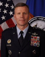 An official photo of Air Force General Tod D. Wolters