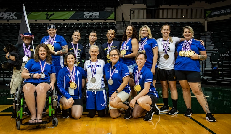 Warrior Games female athletes