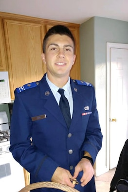 Larimer County officials have positively identified the remains recovered in Rocky Mountain National Park Friday as those of U.S. Air Force Academy Cadet Candidate Micah Tice. (Courtesy photo)
