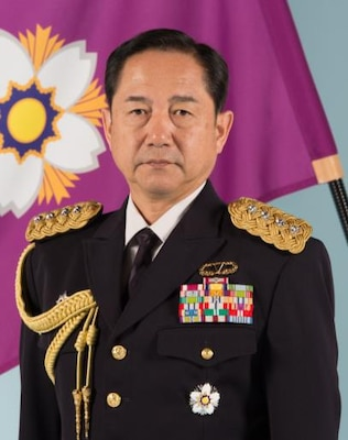 Photograph of General Yamazaki for his IHOF update