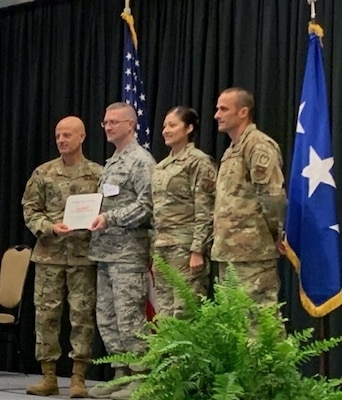 The 149th Fighter Wing Inspector General's office was awarded the 2018 Air Reserve Component Commander's Inspection Program of the year following the Air Force Major Command Inspection.