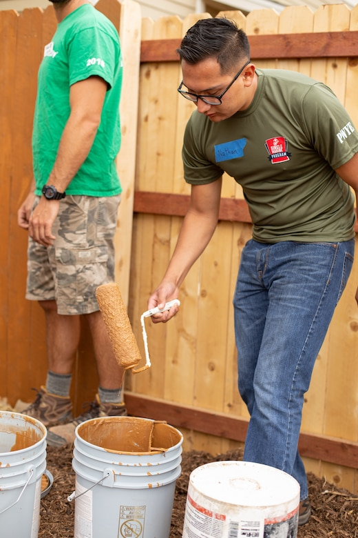 Healing Homes: SMP Marines helps local Habitat for Humanity