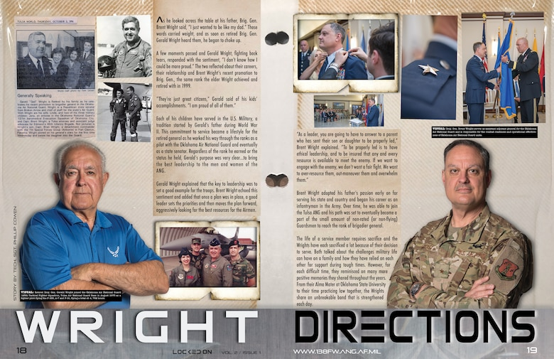 138th Fighter Wing, Locked On Magazine layout and design