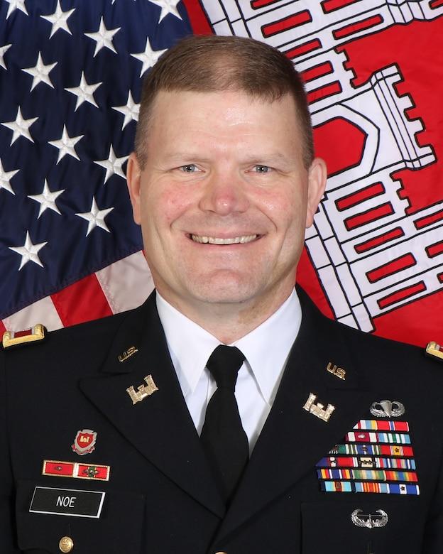 Little Rock District Commander, Col. Eric M. Noe