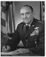 Gen. John D. Ryan Pacific Air Forces commander 1 February 1967.