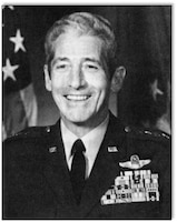 Gen Robert W. Bazley Pacific Air Forces commander 25 September 1984.