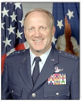 Gen. Jimmie V. Adams Pacific Air Forces commander 19 February 1991.