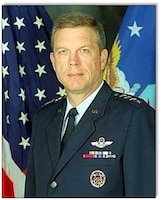 Gen. Patrick K. Gamble Pacific Air Forces commander 31 July 1998.