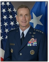 Gen. Terrence J. O'Shaughnessy Pacific Air Forces commander 12 Jul 2016.