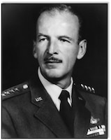 Gen. Laurence S. Kuter Far East Air Forces commander 4 June 1955.