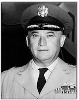 Gen. Emmett O'Donnell Jr. Pacific Air Forces commander 1 August 1959.