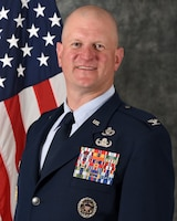 Official Photo for Col. Joshua DeMotts.