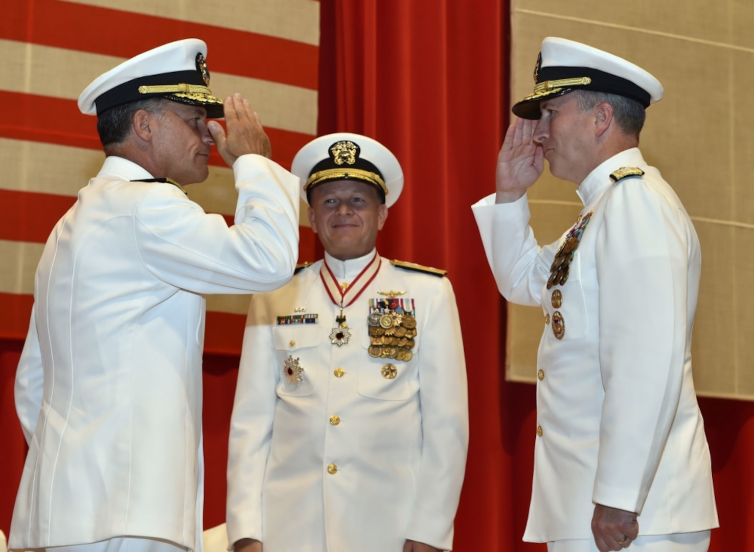 USS John S. McCain Sailors Honored for Damage Control Efforts following 2017 Collision