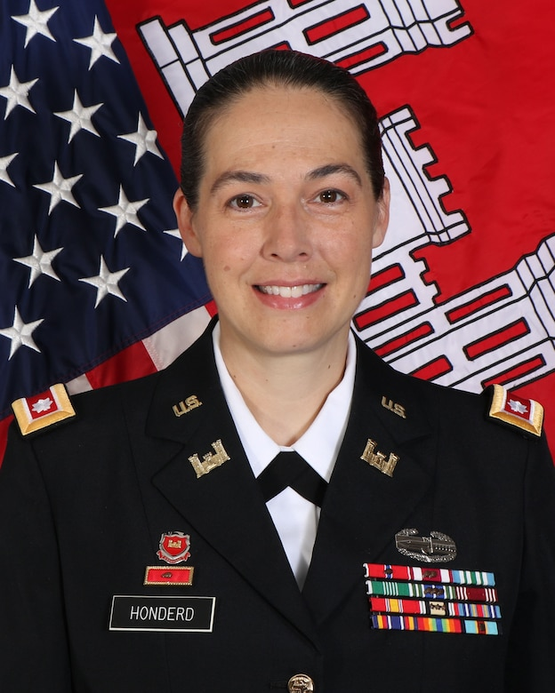 Lt. Col. Rachel Honderd is the Charleston District Commander