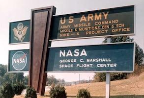 Redstone Arsenal Marshall Space Flight Center