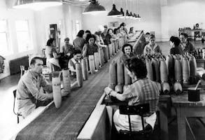 Technicians at Redstone