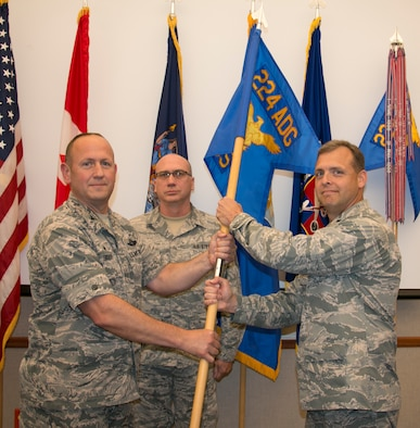 Lt. Col. Kerneklian is new Support Squadron Commander