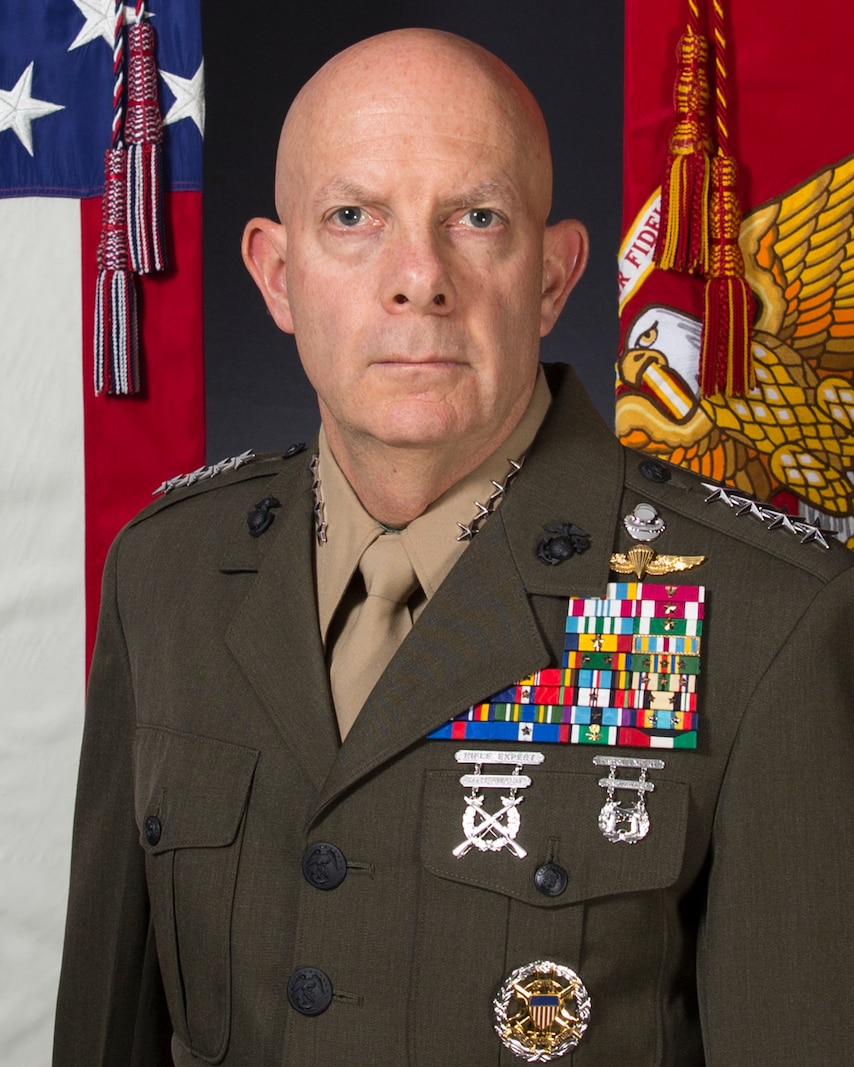 The 38th Commandant of The Marine Corps