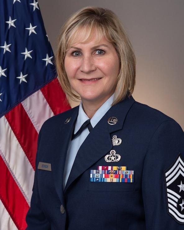 CMSgt Teresa Renson, Command Chief- 168 WG- Eielson AFB, Alaska