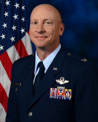 Official photo of the 31st Fighter Wing Vice Commander.
