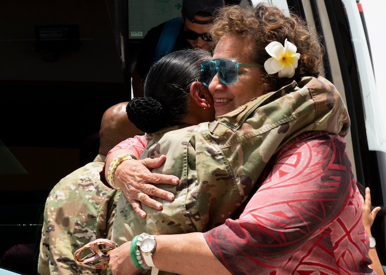 Nine members of congress representing Florida, Texas, Illinois, California, Puerto Rico and the American Samoan Islands learned more about the strategic location, expeditionary mission and enduring presence of AUAB and service members assigned here.