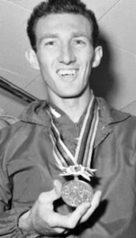 Along with American Paralympic Gold medalist Grace Norman, veteran and American Gold Medalist Bob Schul is scheduled to be the second guest speaker for the 23rd Air Force Marathon. Schul is the first and only Team USA runner to win the 5,000 meters at the Olympic games. (Contributed photo)