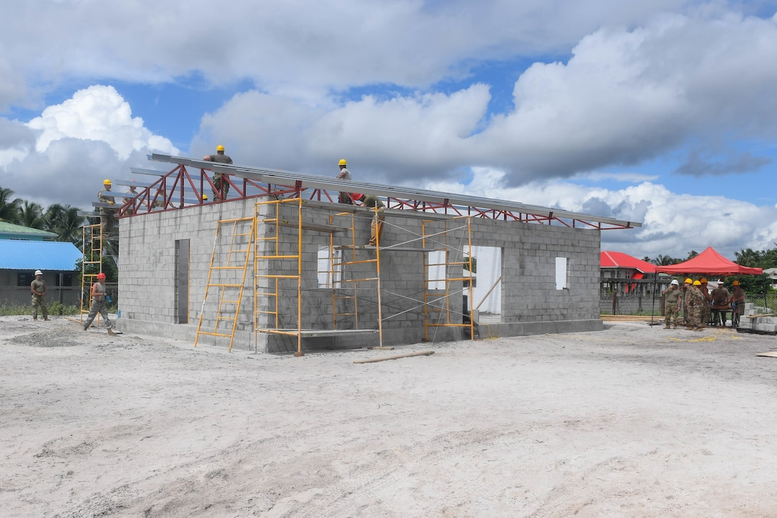 Engineers build a community center.