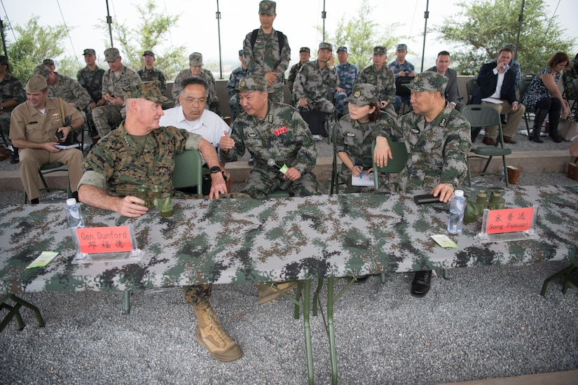 U.S., Chinese generals meet.