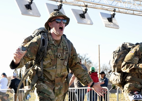 Cancer survivor rucks 150 miles to raise funds for pediatric cancer