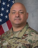 Command Chief Master Sgt. Jason Colon, 386th Air Expeditionary Wing command chief