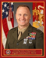 Brigadier General Jason L. Morris.  Commanding General, Training Command