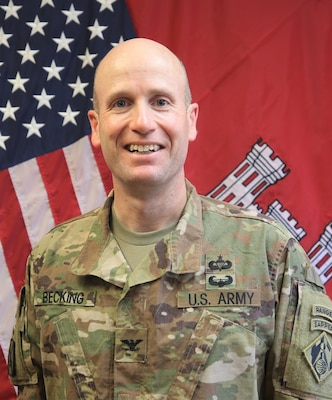 Transatlantic Afghanistan District Commander Col Chris Becking Bio Photo