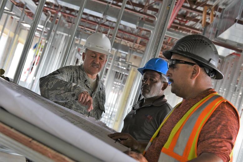Muniz Air National Guard Base rebuilds Medical and Dining Facilities
