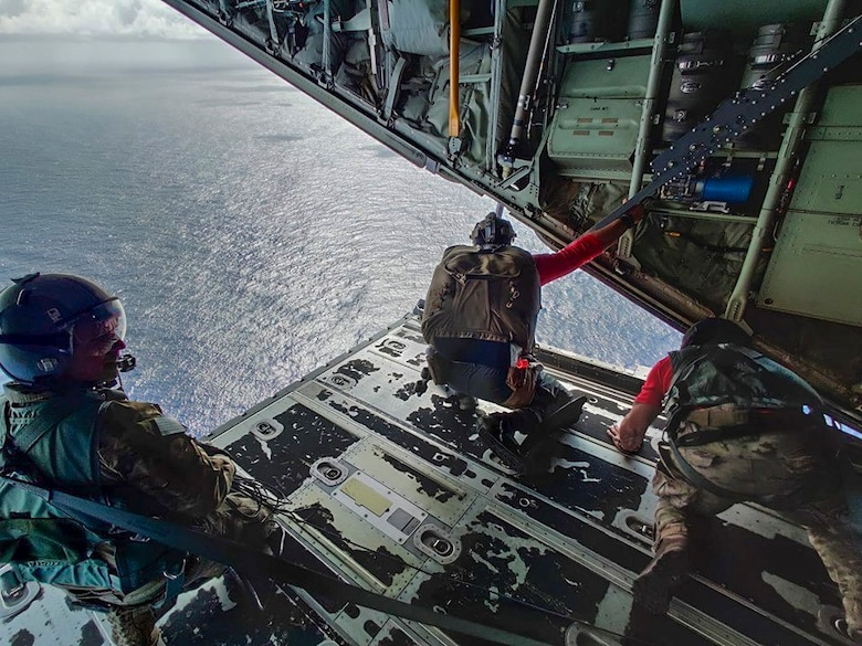 563d RQG Airmen rescue injured Mexican sailors