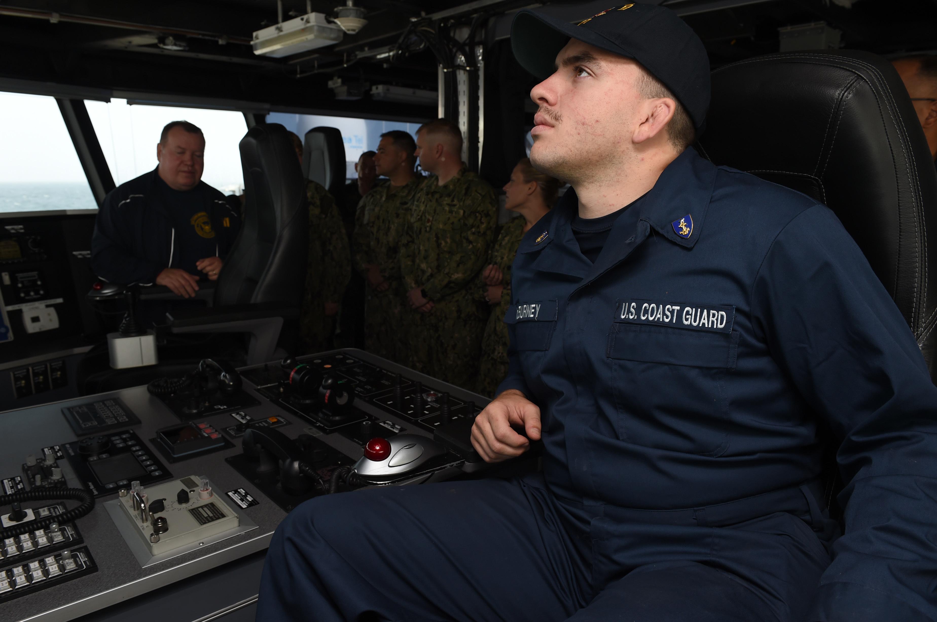 USS Carson City Coast Guard Cadets