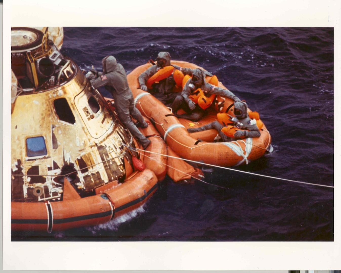 Rescue of Apollo 11