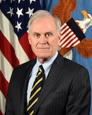 Mr. Richard V. Spencer, Acting Secretary of Defense , poses for his official portrait in the Army portrait studio at the Pentagon in Arlington, Va, June. 25, 2019.