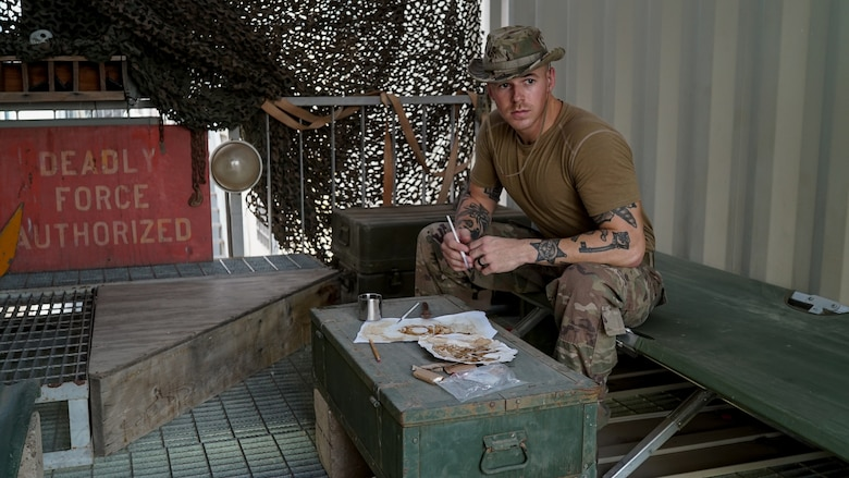 Muralist, painter, street artist and 315th Airlift Wing Reservist, Staff Sgt. Corban Lundborg, combat photojournalist with the 4th Combat Camera Squadron at JB Charleston, South Carolina, used his creative talent and public affairs training to win 2018 Air Force Photographer of the Year and first place in the 2018 Military Visual Awards portrait category.